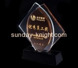Factory custom design high quality acrylic trophy award trophy sports medal ATK-029