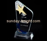 Acrylic plastic supplier customized acrylic award plaques ATK-028