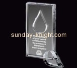 Acrylic products manufacturer customized best design trophies and awards ATK-046