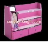 Wholesale acrylic makeup display case organizer with drawers MDK-042