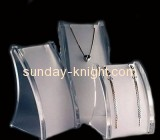 Acrylic jewelry displays stand for necklace JDK-006