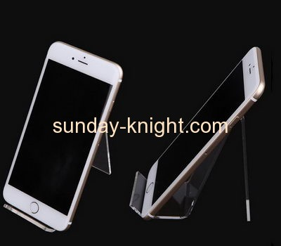 China acrylic manufacturer customized cell phone display stand smartphone stand for desk CPK-114