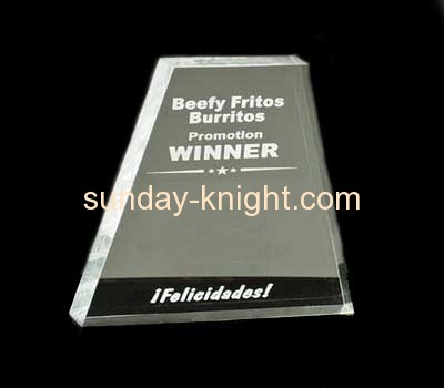 Custom acrylic award medal trophies and awards oscar trophy ATK-023