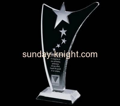 Acrylic awards manufacturer custom made award plaques trophies and medals ATK-036