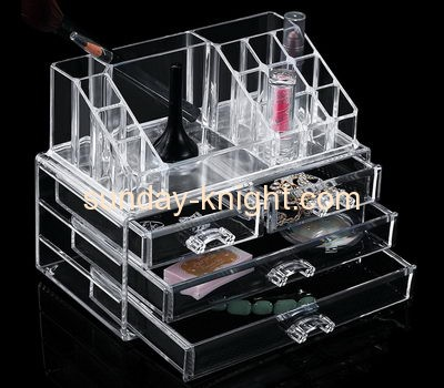 Acrylic makeup storage containers MDK-006