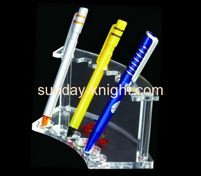 China acrylic manufacturer customized acrylic pencil and pen holder display stand ODK-117
