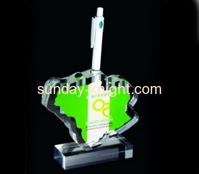 Acrylic display manufacturers custom made clear acrylic display stands pen holder ODK-123