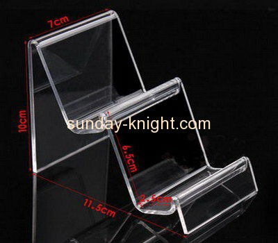 Acrylic display supplier customized acrylic trade show riser display stands ODK-141