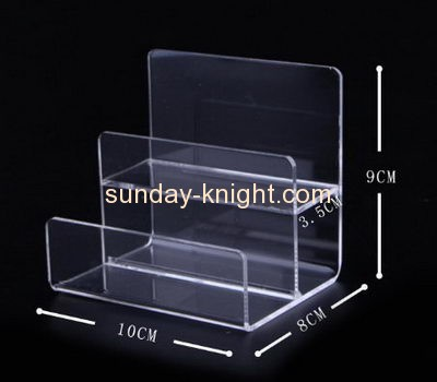 Acrylic items manufacturers customized acrylic retail product riser display stands ODK-174