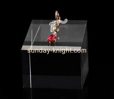 Acrylic display manufacturers customized retail earring holder display stands JDK-327