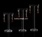 Display manufacturers customized acrylic necklace and earring display stands JDK-343