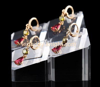Acrylic display manufacturers customized acrylic earring jewelry holder JDK-353