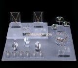 Shop display stands suppliers customized acrylic block jewellery display stands for shops JDK-393