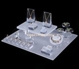 Shop display stands suppliers customized acrylic jewelry retail display JDK-401