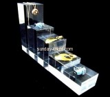 Acrylic manufacturers customized plastic retail jewellery display stands JDK-418