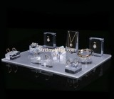 China acrylic manufacturer customized retail jewellery display stands JDK-417