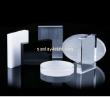 China acrylic manufacturer customized acrylic blocks jewellery display stands JDK-424