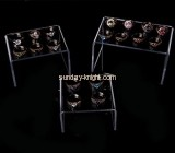 Shop display stands suppliers customized acrylic jewelry ring display holder JDK-431