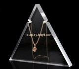 Acrylic display stand manufacturers customized acrylic necklace holder display JDK-436