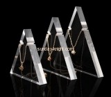 China acrylic manufacturer customized necklace holder display stands JDK-442