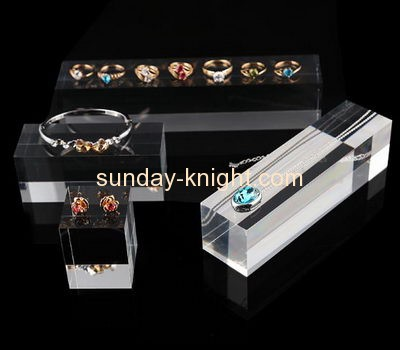 Acrylic manufacturers china customized acrylic jewelry store display stands JDK-379
