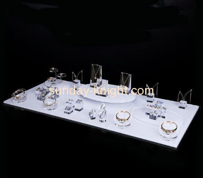 Acrylic manufacturers customized acrylic jewellery shop display counters JDK-407
