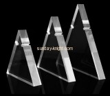 Lucite manufacturer customized acrylic long necklace display stand JDK-450