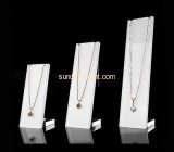 Acrylic products manufacturer customized jewellery necklace display stand JDK-469
