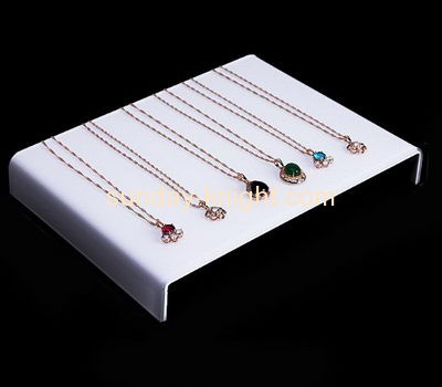 Acrylic display manufacturers customized jewelry necklace display holder JDK-475