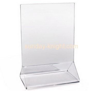 Acrylic display stand manufacturers custom display sign stand holder BHK-109