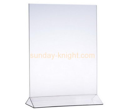 Acrylic factory custom plexiglass fabrication pop display and sign BHK-114