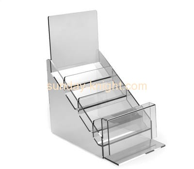 Plexiglass company custom fabrication pamphlet display holder BHK-130