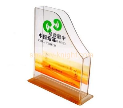 Acrylic supplier custom clear acrylic magazine display stands holders BHK-138