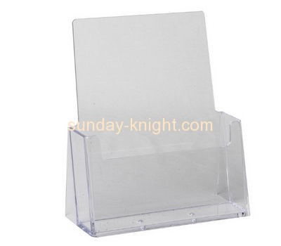 Acrylic factory custom cheap acrylic plastic brochure display holders BHK-161
