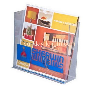 Plexiglass company custom plexiglass fabrication pamphlet holders BHK-226