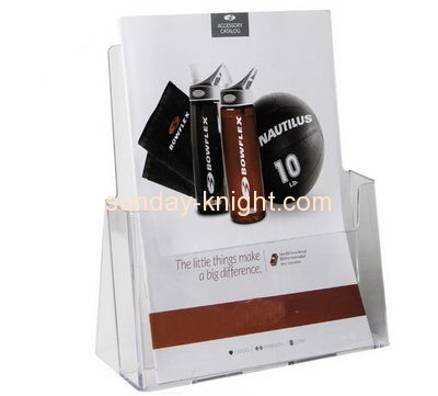 Acrylic plastic supplier custom perspex plastic brochure display stands BHK-228