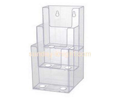 Acrylic display manufacturer custom plexi plastic brochure display stand BHK-237