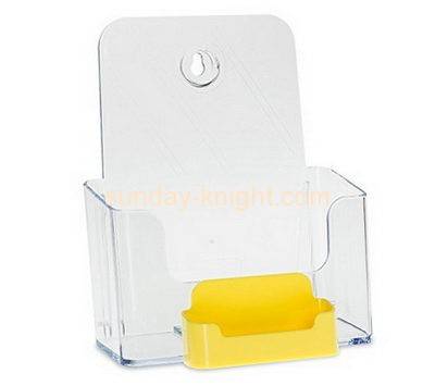 Acrylic products manufacturer custom plastic acrylic literature displays holder BHK-245