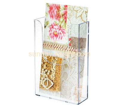 Acrylic display stand manufacturers custom flyer display stand BHK-254