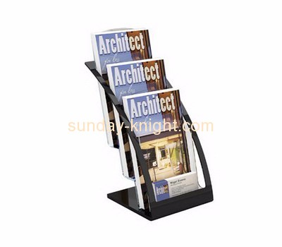 Acrylic items manufacturers custom made acrylic plastic magazine rack BHK-258