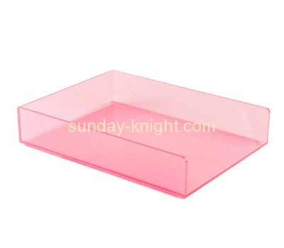 Perspex manufacturers custom acrylic plastic file folder holder BHK-264