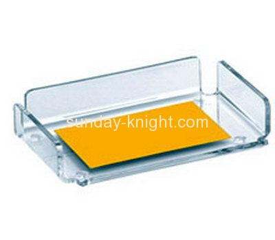 Plexiglass manufacturer custom acrylic plastic products name card holder BHK-265