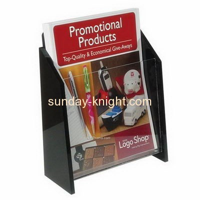 Plastic manufacturing companies custom acrylic magazine organizer display stands BHK-291