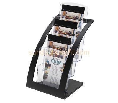 Acrylic products manufacturer custom brochure literature display rack BHK-305