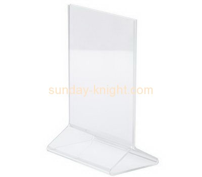 Acrylic items manufacturers custom perspex plastic fabrication poster holders BHK-306