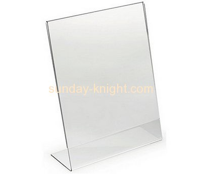 China acrylic manufacturer custom plastic perspex displays poster holders BHK-308