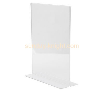 Acrylic manufacturers custom plastic manufacturing poster holder stand BHK-311