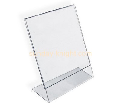Acrylic company custom fabrication retail display sign holders BHK-315