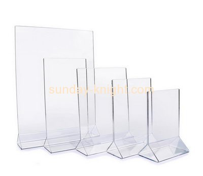Acrylic display manufacturer custom tripod sign holder BHK-335