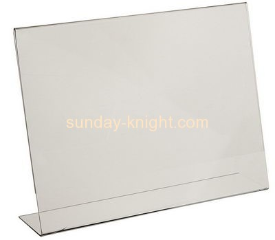 Acrylic display supplier custom tabletop sign display holder BHK-345